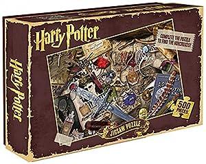 HARRY POTTER - Puzzle Rompecabezas en Color de los horrocruxes de Lord Voldemort, 500Piezas, tamaño estándar, cód. PUZZHP06