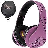 PowerLocus P2 – Auriculares Bluetooth inalambricos de Diadema Cascos Plegables, Casco Bluetooth con Sonido Estéreo Micro SD/T
