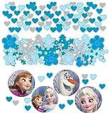 Amscan Disney Frozen Konfetti Party-Deko blau-bunt 34g Einheitsgröße