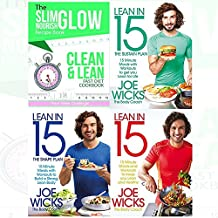 Joe Wicks Books and The Slim Glow Nourish Clean & Lean Fast Diet Cookbook 4 books Collection set