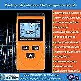 KKmoon LCD Rivelatore di Radiazione Elettromagnetica Digitale Metro Dosimetro Tester Contatore