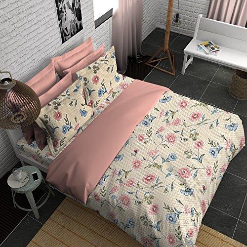 Boutique Living India 210Tc King Size Cotton Printed with 2 Pillow Cover Bedsheet Set-(274cm x 274cm) Terrace Garden - Buy Online Bedsheet