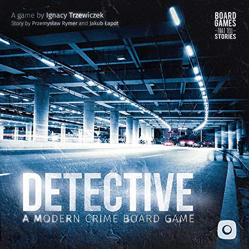 Portal Games POG1375 Detective: A Modern Crime Board Game, Multicoloured