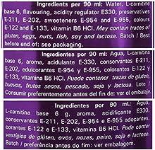 Nutrytec L-Carnitina Líquida Platinum, Sabor a Frutas Rojas - 1000 ml