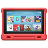 Kid-Proof Case for Fire HD 10 tablet | Compatible with 9th generation tablet (2019 release), Punch Red