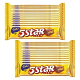 #9: Cadbury 5 Star Chocolate Bar, 40g (Pack of 40)
