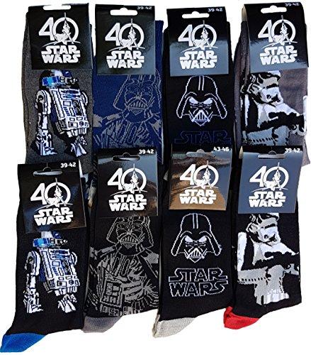 cken, mehrfarbig (Star Wars Socken)