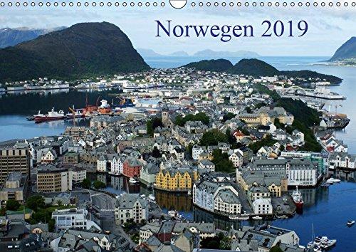Norwegen 2019 (Wandkalender 2019 DIN A3 quer): Eine kleine Rundreise in Bildern durch den Süden Norwegens (Monatskalender, 14 Seiten ) (CALVENDO Orte)