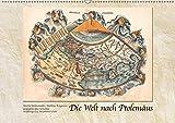 Die Welt nach Ptolemäus (Wandkalender 2019 DIN A2 quer): Historische Landkarten nach Claudius Ptolemäus (Monatskalender, 14 Seiten ) (CALVENDO Kunst)