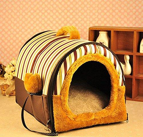 CIDBEST® kreative Warm Kuschelhöhle Haustier/Katzen/Schlafplätze Pet House Haustiere Hund-Katze-Welpen-Bett Warm Sofa House Bed Mat Hund Zimmer Kuschelhöhle/Hundehöhle