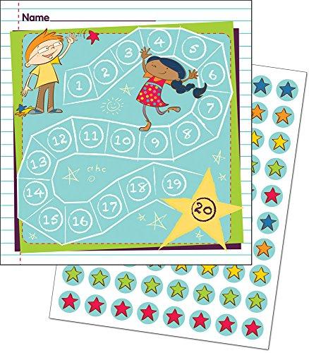 Belohnungssystem mit Kärtchen und Sticker / für Lehrer und Eltern / Schüler und Kinder / viele Motive wählbar (Spielende Kinder)