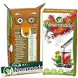 Neuronade Getränk mit Ginkgo Biloba, Biotin & Vitamin B12, 1er Pack (1 x 7 Stück)