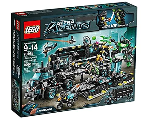 Verrous City - LEGO Ultra Agents - 70165 - Jeu