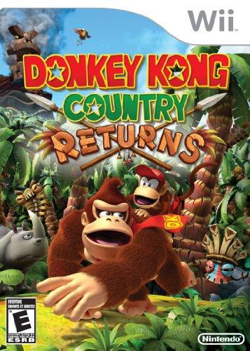 Donkey Kong Country Returns (Wii) [Edizione: Regno Unito]