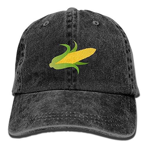 Miedhki Gelbe Maiskolben-Baumwolle justierbare Cowboyhut-Baseballmütze für Erwachsenen (Maiskolben Kostüm)