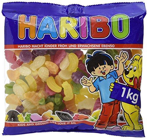 Preisvergleich Produktbild Haribo Tropi Frutti,  1er Pack (1 x 1 kg)
