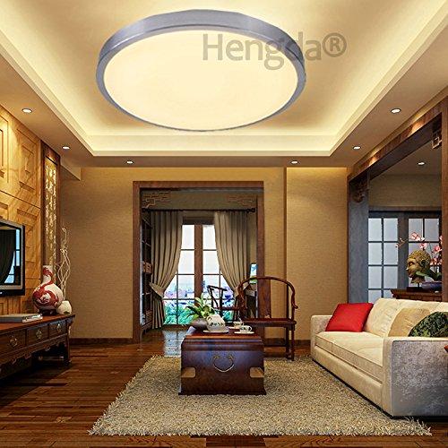 Hengda® 12W LED Deckenleuchte Modern Deckenlampe 2700K-3200K ...