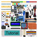 Freenove Ultimate Starter Kit with Uno R3 (Arduino-Compatible), 260 Pages Detailed Tutorial, 217 Items, 51 Projects, Solderless Breadboard