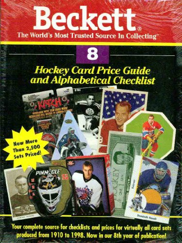 Beckett Hockey Card Price Guide & Alphabetical Checklist: 8 (Beckett Hockey Card Price Guide, No 8)