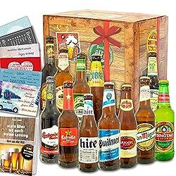 """Biere der Welt 12 Flaschen   Männergeschenk""""12x Biere aus aller Welt"""""""