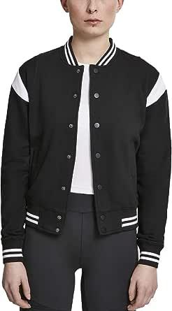 Urban Classics Ladies Inset College Sweat Jacket Giacca tipica delluniversit Donna