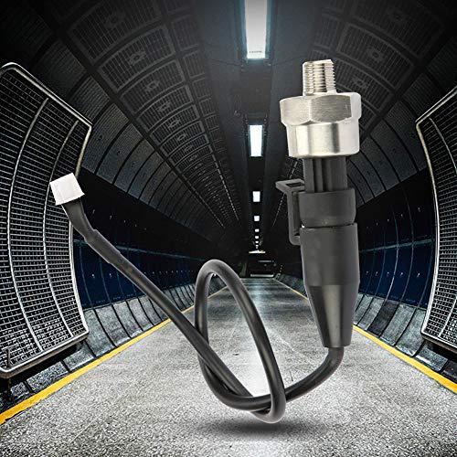 Druckwandler, 1pc 1 / 8NPT Edelstahl Drucksensor für Öl Kraftstoff Wasser(30PSI) -