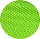 Silicone Coaster Honey Comb (Green) Prem...