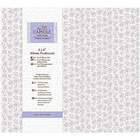 Papermania French Lavender Postbound Album 8