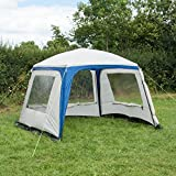 Trail Deluxe Waterproof Gazebo Sun Shade Event Canopy Camping Shelter 3m x 3m