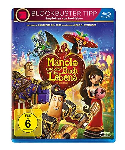 Manolo und das Buch des Lebens [Blu-ray]