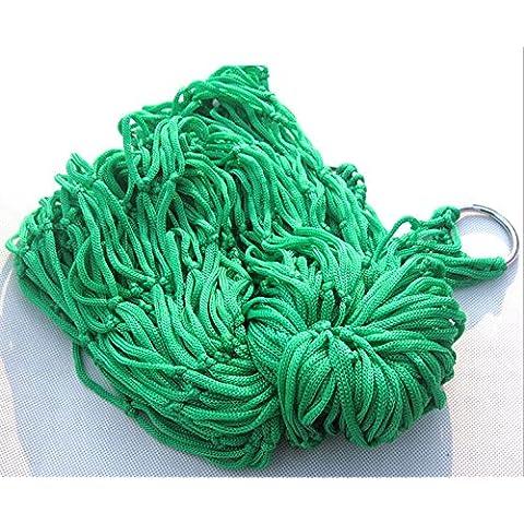 WEIAN singola zelthä ngemat tebold verde scuro Mesh Nylon corda–Amaca, #1