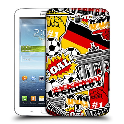 Head Case Designs Pattern Margherite Strisce Floreali Fashion Cover Morbida In Gel Per Apple iPhone 7 Plus / 8 Plus Germania