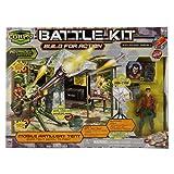 The corps - tente d'artillerie mobile + figurine soldat militaire ...