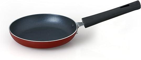 Anjali Mini Tapper Pan (16.51 cm) (Red Matte 100% Non-Toxic Coating)