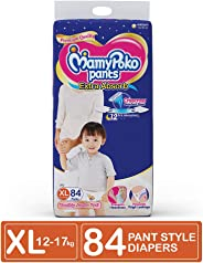 MamyPoko Pants Extra Absorb Diaper Monthly Jumbo Pack, Extra Large (Pack of 84)