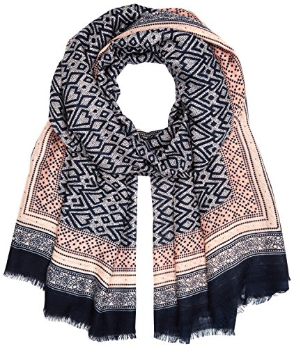 PIECES Damen  Umschlagtuch PCLIMON LONG SCARF PB, , , mit Print, , Gr. One size, Mehrfarbig (Cameo Rose Cameo Rose)
