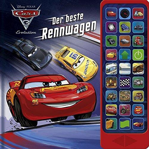 27-Button-Soundbuch - Cars 3 - Der Beste Rennwagen - Hardcover-Buch - 27 coole Geräusche zu dem Cars 3 Disney/Pixar-Film (Besten Sport-filme)