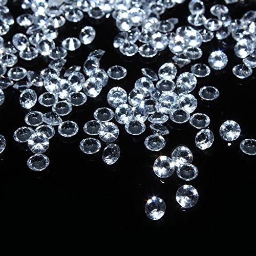 6mm Scatter Tisch Kristalle Acryl Diamanten Kristalle für Party Supplies Dekorationen Kostüm Stage Requisiten Vase Fillers Hochzeit Dekorationen (Fisch Kostüm Diy)