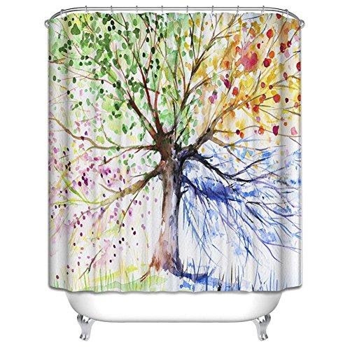 cateray-colorato-albero-di-bagno-con-doccia-tenda-anti-muffa-tenda-bagno-effetto-poliestere-impermea