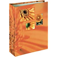 "Hama Album Photo ""Singo"" (album minimax, 13 x 16,5 cm, 100 pages, pour 100 photos au format 10 x 15 cm) Orange"