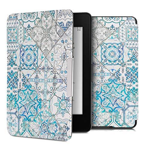 kwmobile Amazon Kindle Paperwhite Cover - Custodia a Libro in Pelle PU - Flip Case per eReader - Copertina Protettiva per Amazon Kindle Paperwhite (Non Compatibile con Modelli del 2018 10ª Gen.)