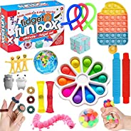 HICITI fidget toys set ,Relieves Stress Anxiety Fidget Toy for Children Adults, Pop it toys set for Birthday P
