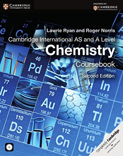 Cambridge International AS and A Level Chemistry Coursebook with CD-ROM (Cambridge International Examinations)