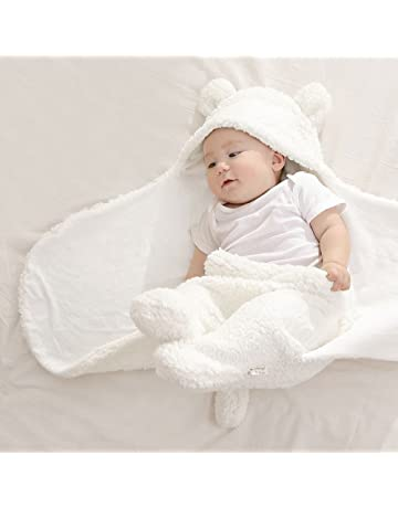 My NewBorn 3 in 1 Baby Blanket (White)