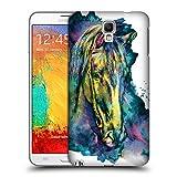 Head Case Designs Offizielle Riza Peker Pferd Tiere Ruckseite Hülle für Samsung Galaxy Note 3 Neo