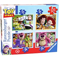 Ravensburger 7108 Disney Toy Story 4 in Box (12, 16, 20 and 24 Pieces) Jigsaw Puzzles
