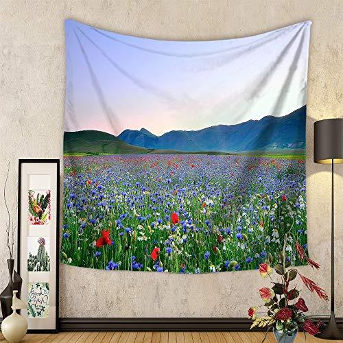 Böhmen-Pflanzen-Blumen-hängender Stoff-Wandteppich Fernsehhintergrund-Wand-Kunst-Wand-Wand-Wand-Wand-Wand-Wand-Wandgemälde der Wand-3D Wandgemälde-Wand-Ausgangsschlafzimmer-Wohnzimmer-Kinderzimmer-Tap