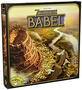 Repos Production Asmodee - 7 Wonders Exp. 4:  Babel (SEV05ML)
