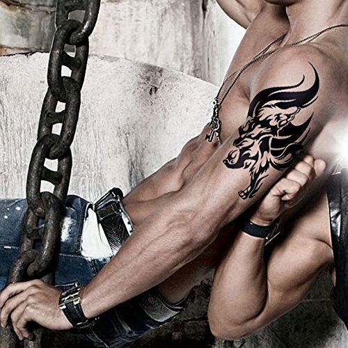 tafly-tatouage-temporaire-wolf-totem-loup-transfert-tatouage-autocollants-hommes-pour-hommes-3-feuil