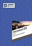 Avery Zweckform 223 Fahrtenbuch, DIN A5, steuerlicher km-Nachweis, 40 Blatt, weiß (Doppelpack)